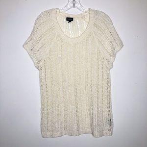 Torrid Loose Knit Short Sleeve Sweater Size 2